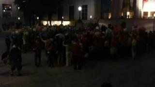 Flash Mob Vienna 12/09. MQ MP3 Experiment.