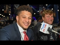 Former Whitehouse QB Patrick Mahomes on entering the NFL draft.