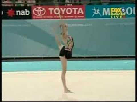Carly Orava 2006 Commonwealth Games Rope Team Final