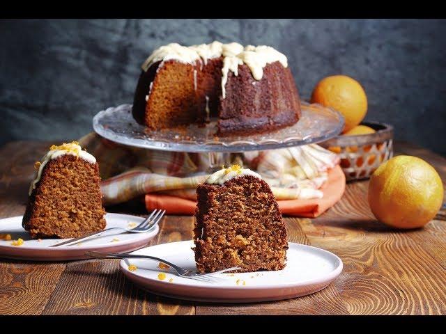 Συνταγή για κέικ πορτοκάλι με ελαιόλαδο και γιαούρτι