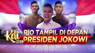 GOOD JOB! RIO PERNAH TAMPIL DI DEPAN PRESIDEN JOKOWI!