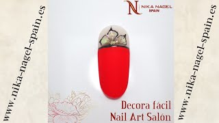 Decora fácil Nail Art Salón / Video Tutorial Nika Nagel Spain
