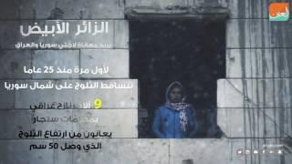الزائر الأبيض يزيد معاناة لاجئ سوريا والعراق