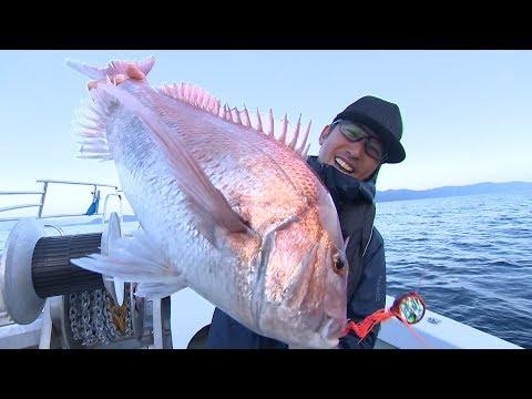 【釣り百景】#242 最新メソッド フォール鯛ラバ 三国モンスターを狙え!