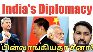 India's Diplomacy | India to UAE & China | Tamil | Siddhu Mohan