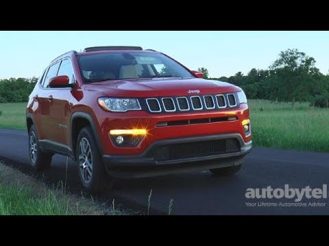2017 Jeep Compass Latitude 4x4 Test Drive Video Review All New 2nd Generation Youtube
