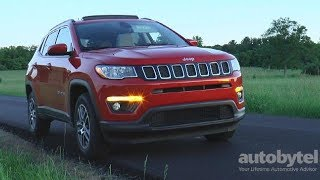 2017 Jeep Compass Latitude 4x4 Test Drive Video Review - All New 2nd Generation