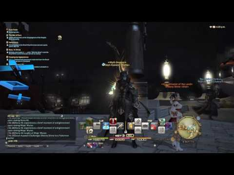Final Fantasy XIV -  Pokemon Trainer Battle Eureka Emote