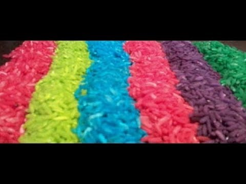 How To Create Colored Rice