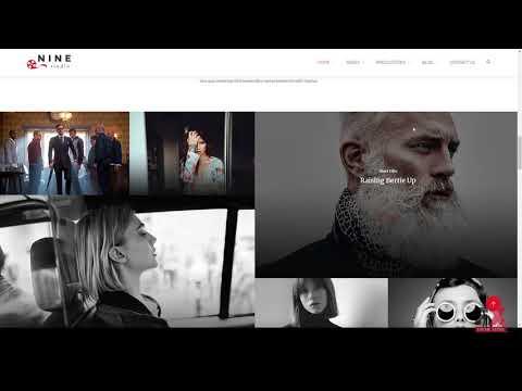 Nine Studio - A Film Maker, Studio, Agency & Blogger HTML Templat