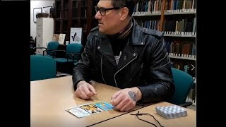 Mitch Horowitz: Tarot Reading at the Rhine (March, 2019)