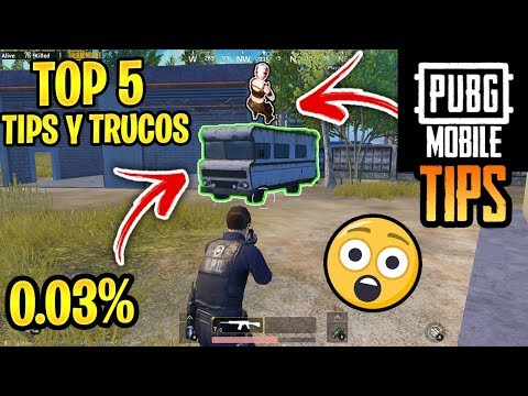 TOP  TRUCOS Y TIPS DE PUBG MOBILE! | SOLO EL  % SABEN ESTE SECRETO!