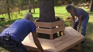 DIY: Baumbank bauen | MDR Garten