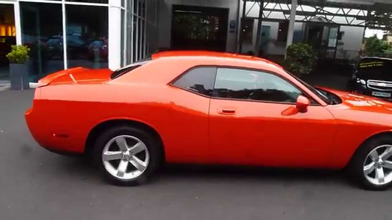 dodge challenger rt hemi orange for sale youtube. Black Bedroom Furniture Sets. Home Design Ideas