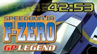 F-ZERO GP Legend Speedrun in 42:53 【WR】