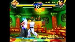 Dreamcast - Capcom vs SNK 2 (Gameplay)