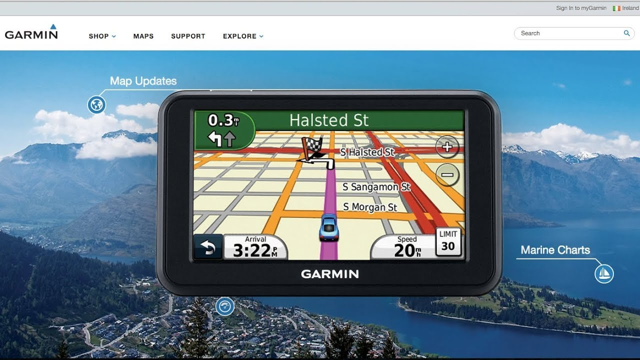 Updating the garmin nuvi