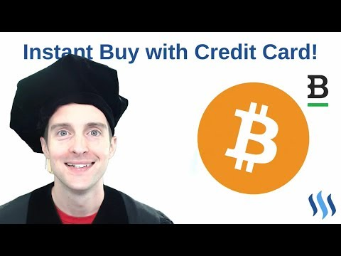 Buy Bitcoin or Any Cryptocurrency Instantly with a Credit Ca