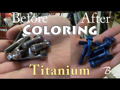 Titanium Bolts Coating