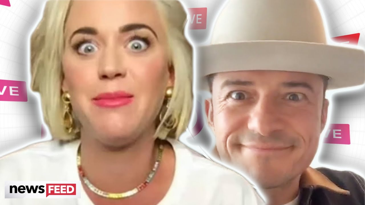Katy Perry SAVES Orlando Bloom From Instagram Live FAIL