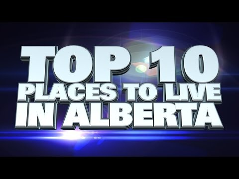 10 best places to live in Alberta 2014