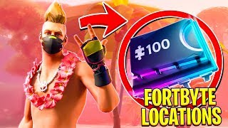 FORTNITE FORTBYTE #16 | LOCATED IN A DESERT HOUSE WITH TOO MANY CHAIRS