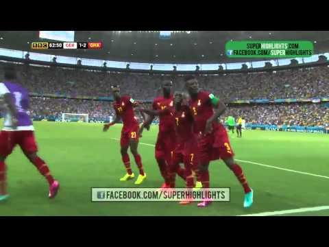Ghana vs Germany World Cup 2014 GHANA DANCE