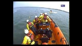 Plucky Golden Retriever Rescued By New Brighton Lifeboat Crew