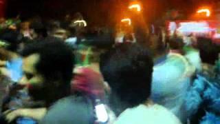 Bangladesh VS England ICC World Cup 2011 Victory Celebration:Bangladesh Wins