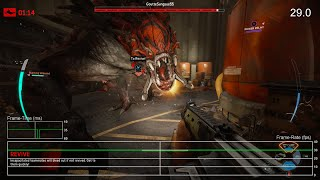 Evolve Xbox One Gameplay Frame-Rate Test