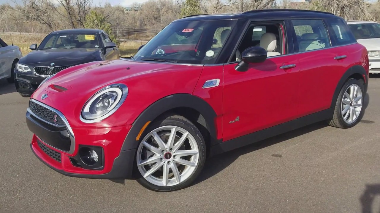 2017 Mini Cooper Clubman S All4 Jcw Interior And Exterior Kit Manual Satellite Grey Leather