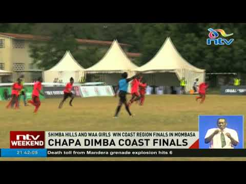 Shimba Hills and Waa Girls win Coast region finals in Mombasa