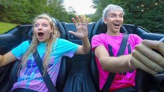 GRACE SHARER REACTS TO SUPER FAST LAMBORGHINI LAUNCH!! (SHARERGHINI)