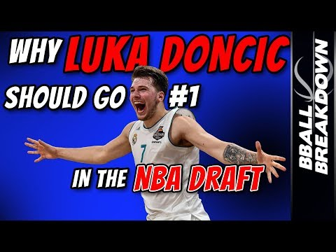 Why Luka DONCIC Should Go #1 In The NBA DRAFT