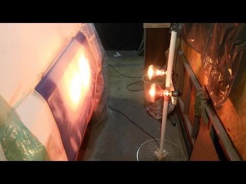 Как сделать инфракрасную лампу
