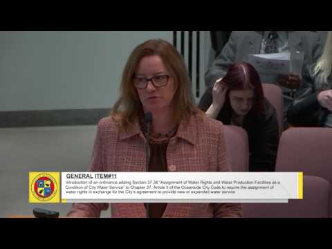 Oceanside City Council Meeting - March 1, 2017 Part 1