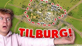 TILBURG OVERSTROOMT MET SCHIJT! (NEDERLAND NABOUWEN: Cities Skylines #5)