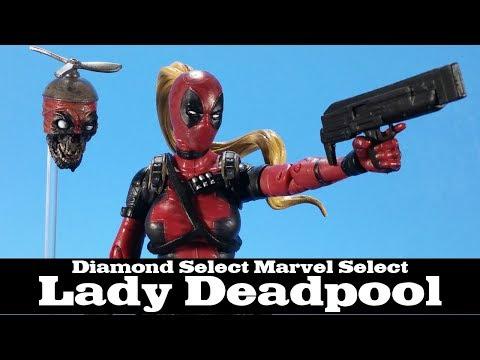 Marvel Select Lady Deadpool Diamond Select