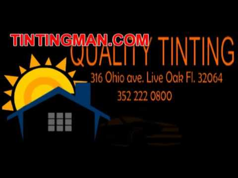 Tinting Man 3522220800 Live Oak Fl 32064 Window Tinting Commercial