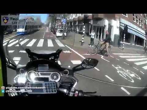 VTB-oefenrit (BB) door Amsterdam 21-04-2015