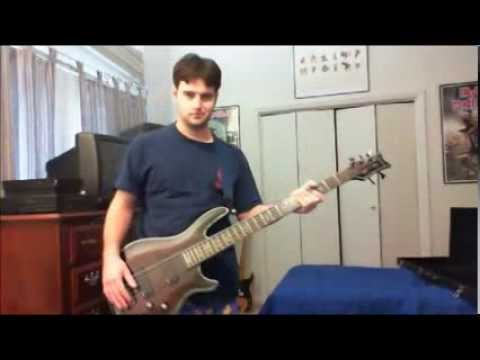 Type O Negative - Blood and Fire (Out of the Ashes mix) - LRRG Bass Cover