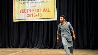 Mono Act   Terrorism   MSU Youth Festival   Rahil Vadsariya