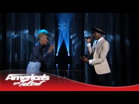 "Labrinth and Emeli Sandé - ""Beneath Your Beautiful"" Performance on AGT - America"