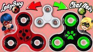 ♥ DIY: Make your own Ladybug/Cat Noir Fidget Spinner ♥