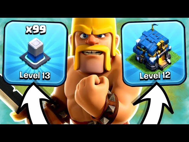 FORGOTTEN TACTIC TO MAX YOUR BASE FASTER! - Clash Of Clans