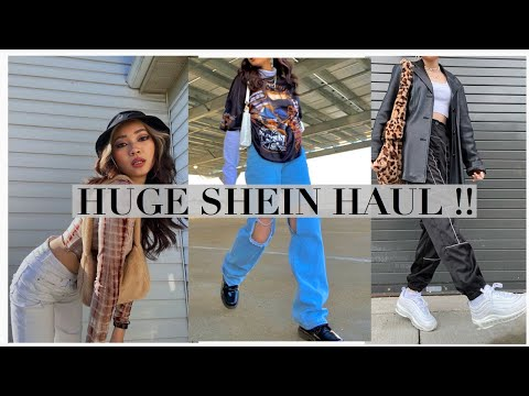 OVER $100 SHEIN HAUL 2021 \\\\ TRY ON HAUL