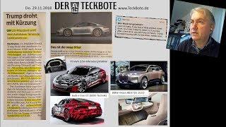 GM gibt auf, E-Autos in LA, Marslandung, Staubsauger in Stuttgart (NEWS KW48/2018)