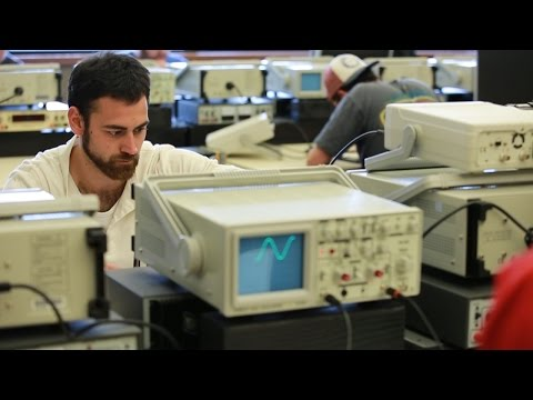Pittsburgh Technical College - A Day as an Electronics Technician