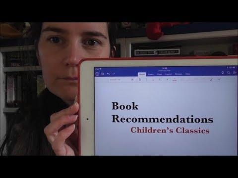 Book Recommendations:  Children's Classics