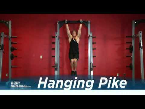 Exercise Guides Hanging Pike MaleShort Clip